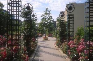 A view of the Promenade Plantée in Paris